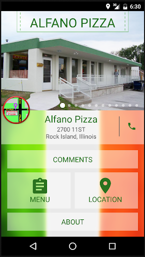Alfano Pizza in Rock Island