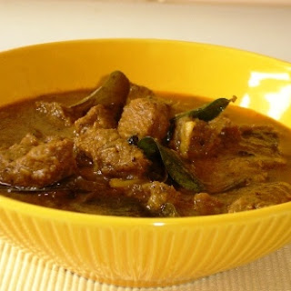 Beef Curry (Thattukada Style).