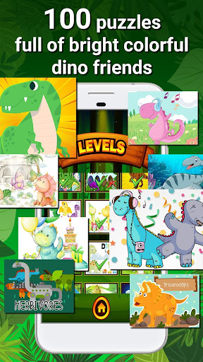 Dinosaur Games - Puzzles for Kids and Toddlers 1.3 screenshots 2