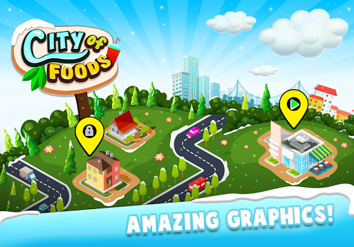 Code Triche City of foods: Cooking game 2020 APK MOD (Astuce) screenshots 1