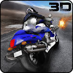 Moto Bike Rider Death Racing Icon