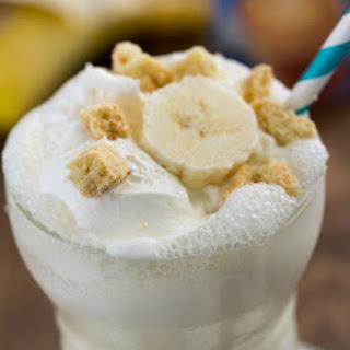 Skinny Banana Cream Pie Milkshake.