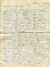 Photo: Letter Sonja Sims to Grace Katherine Tillery May, 16, 1952