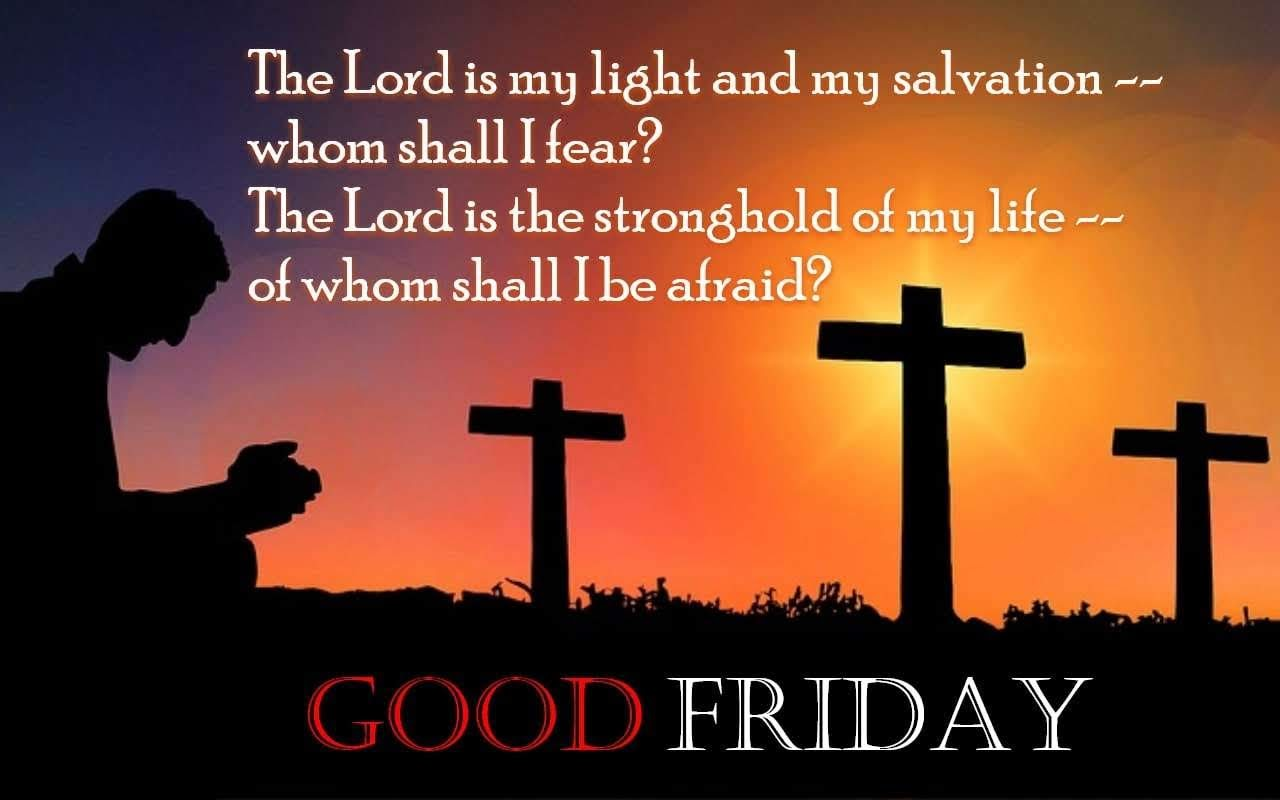 good friday 2018 message #4