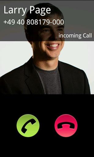 Fake Call 1.1 screenshots 1