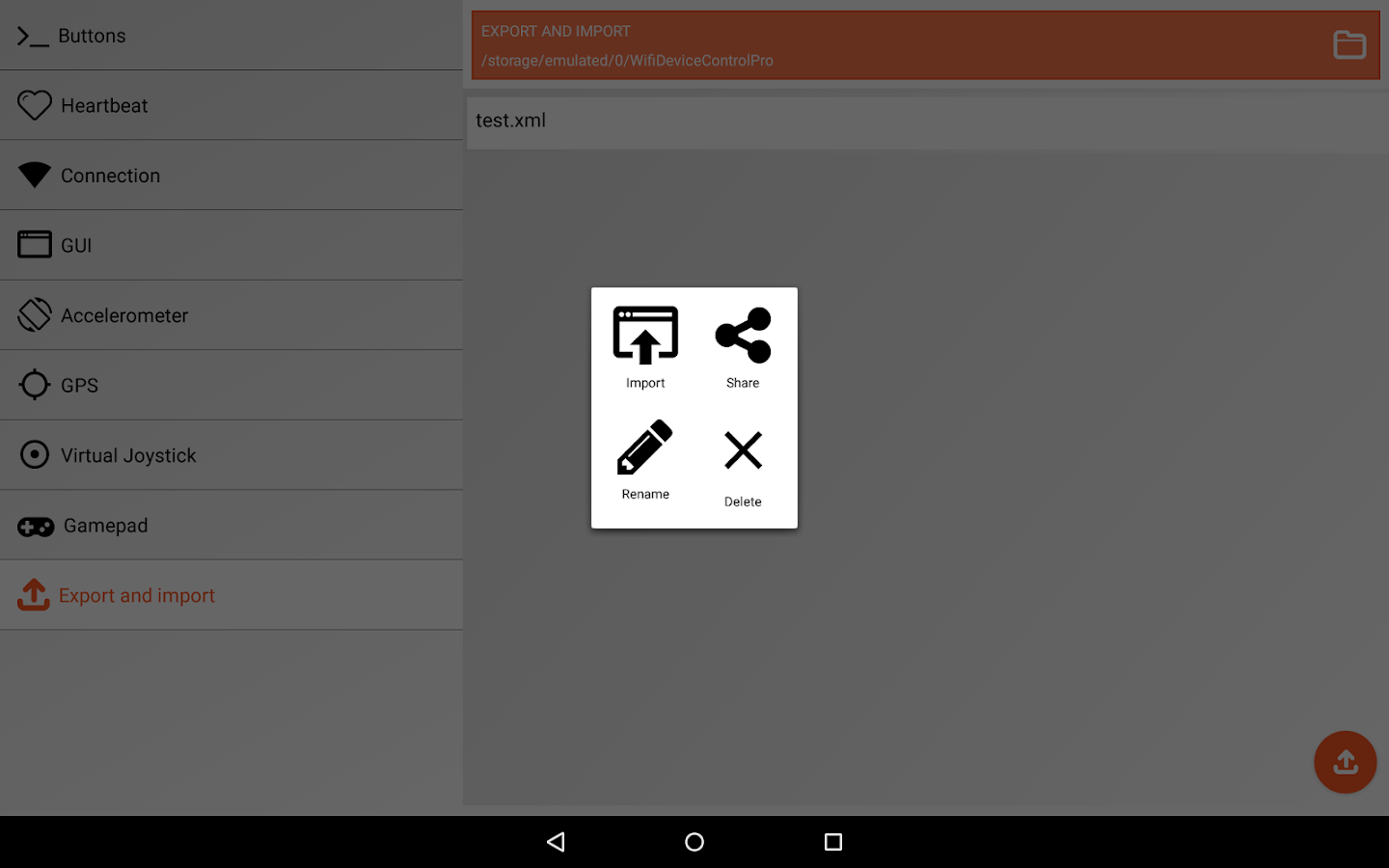 Wifi Device Control Pro- screenshot