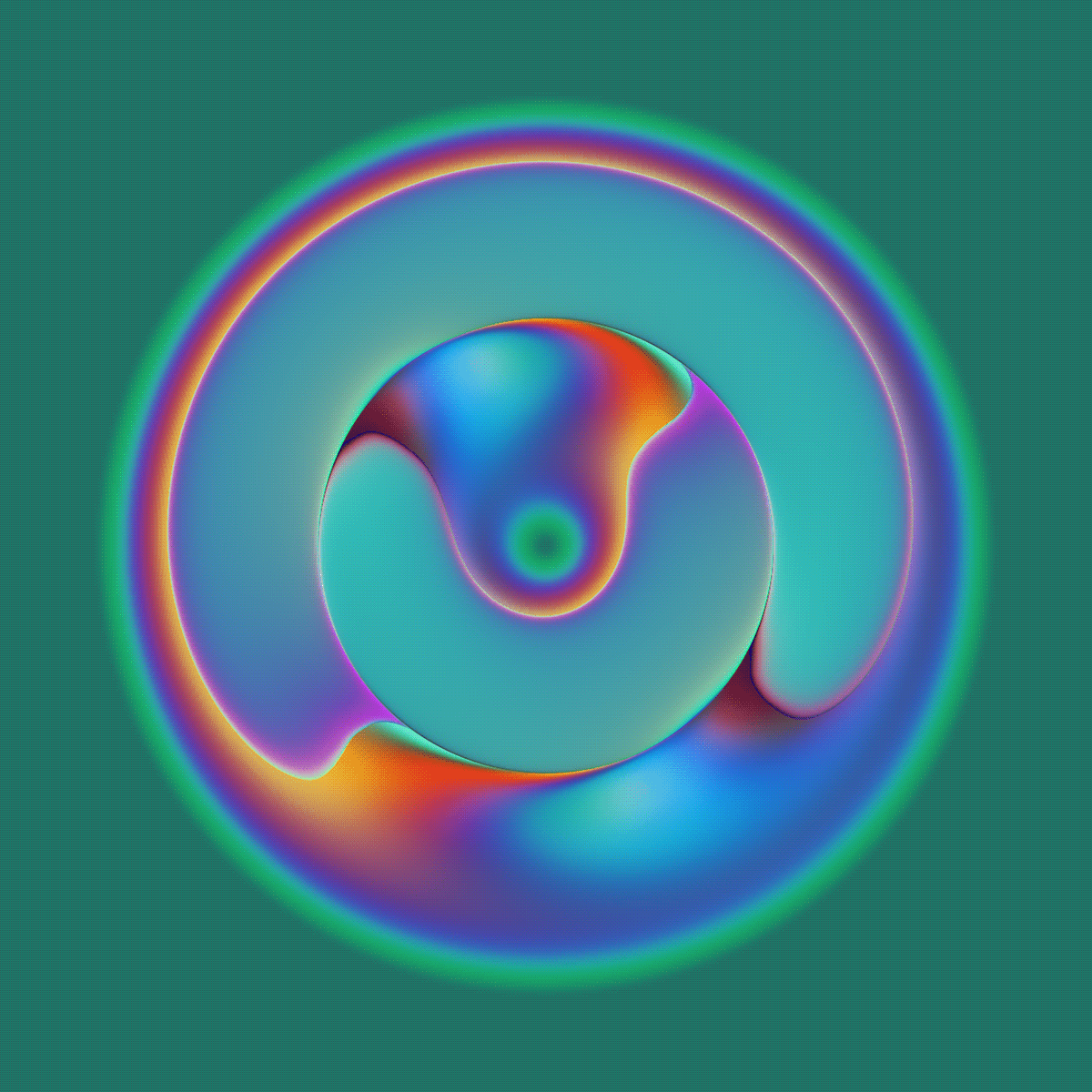 Image may contain: abstract, circle and colorfulness