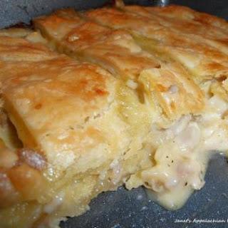 Homemade Chicken Pie No Vegetables Recipes.