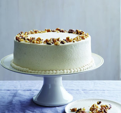 A better, more carrot-y carrot cake