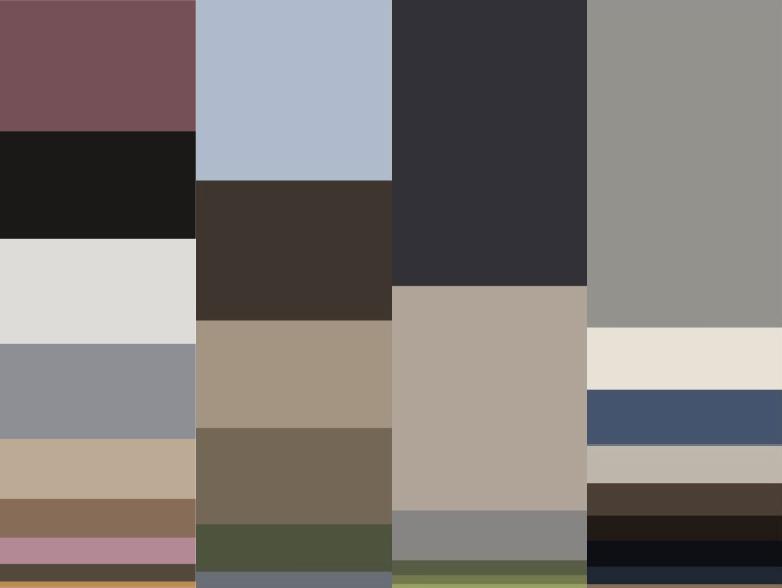 Rie color breakdown