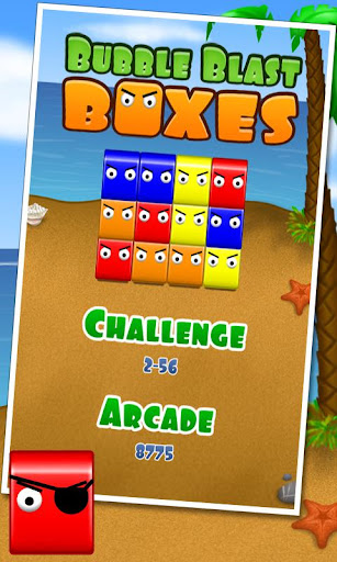 Bubble Blast Boxes - screenshot