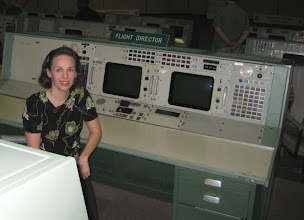 Photo: A real honor to sit at the station once occupied by Chris Kraft & Gene Kranz.