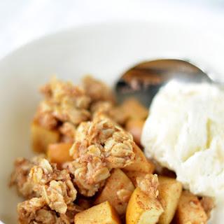 Maple Coconut Oil Apple Crisp