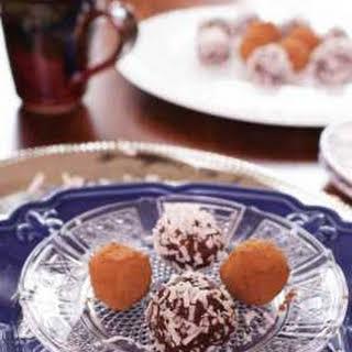 Cocoa Date Nut Truffles.
