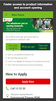 Screenshot of St.George Mobile Banking
