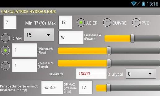 HYDROCALC - screenshot thumbnail