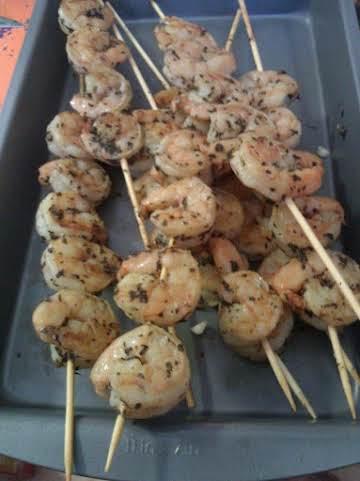 Yummy Basil Shrimp
