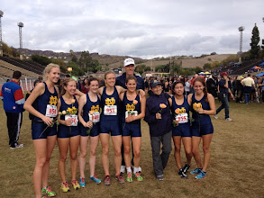 Photo: Notre Dame Girls Varsity Cross Country Team CIF Finals 2012