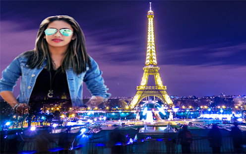 Paris Photo Frames Editor - náhled