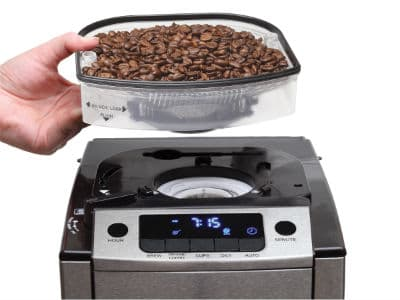 capresso CoffeeTEAM Pro Plus bean container