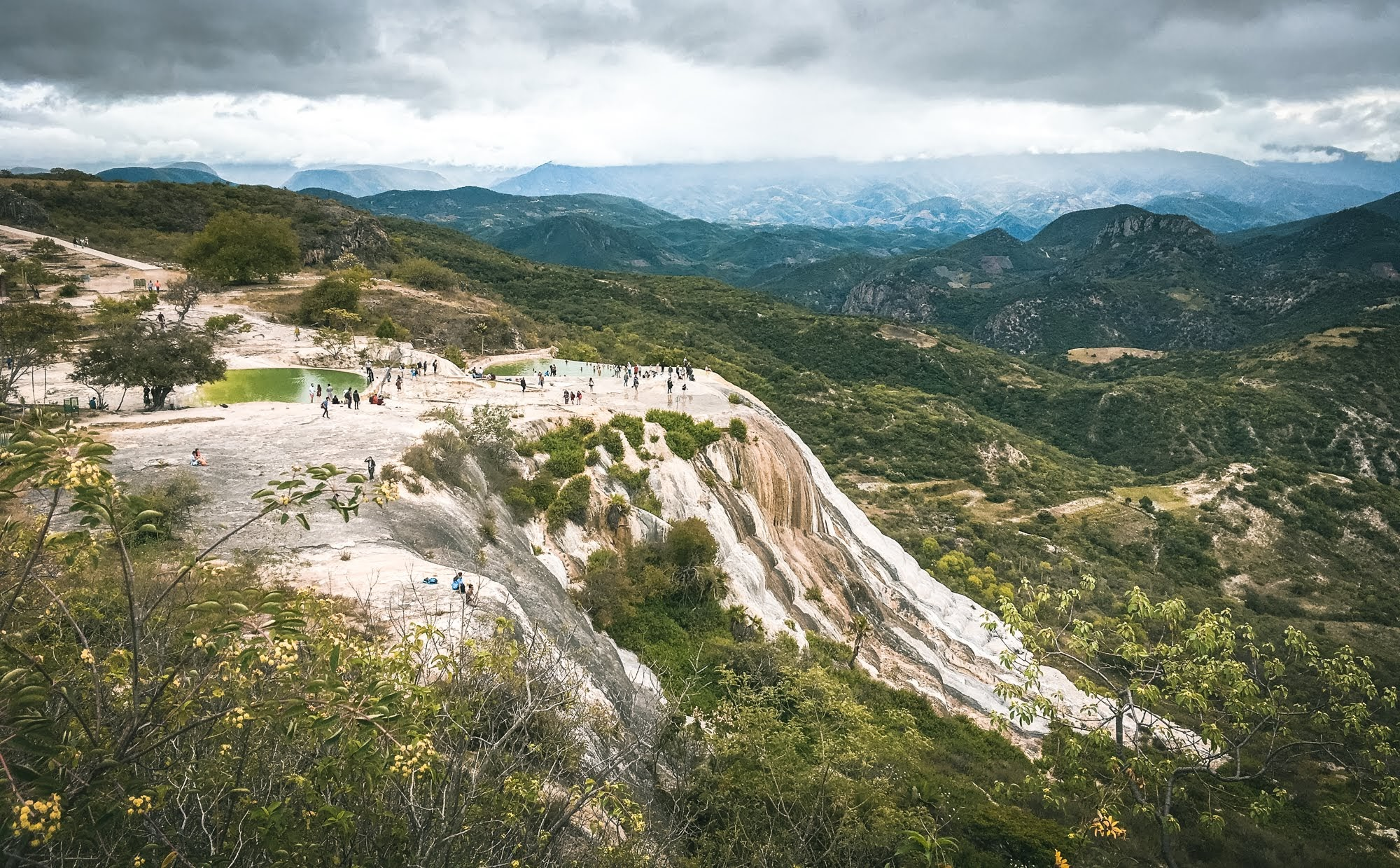 Hierve el Agua is an easy daytrip from Oaxaca City