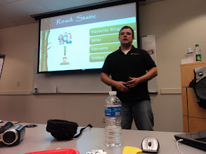 Photo: Will Strohl presenting