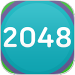 2048 Match Game Number Puzzle Icon