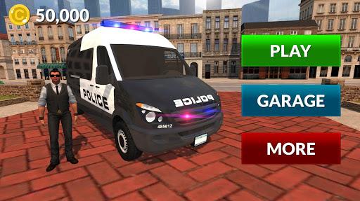 American Police Van Driving: Offline Games No Wifi filehippodl screenshot 8