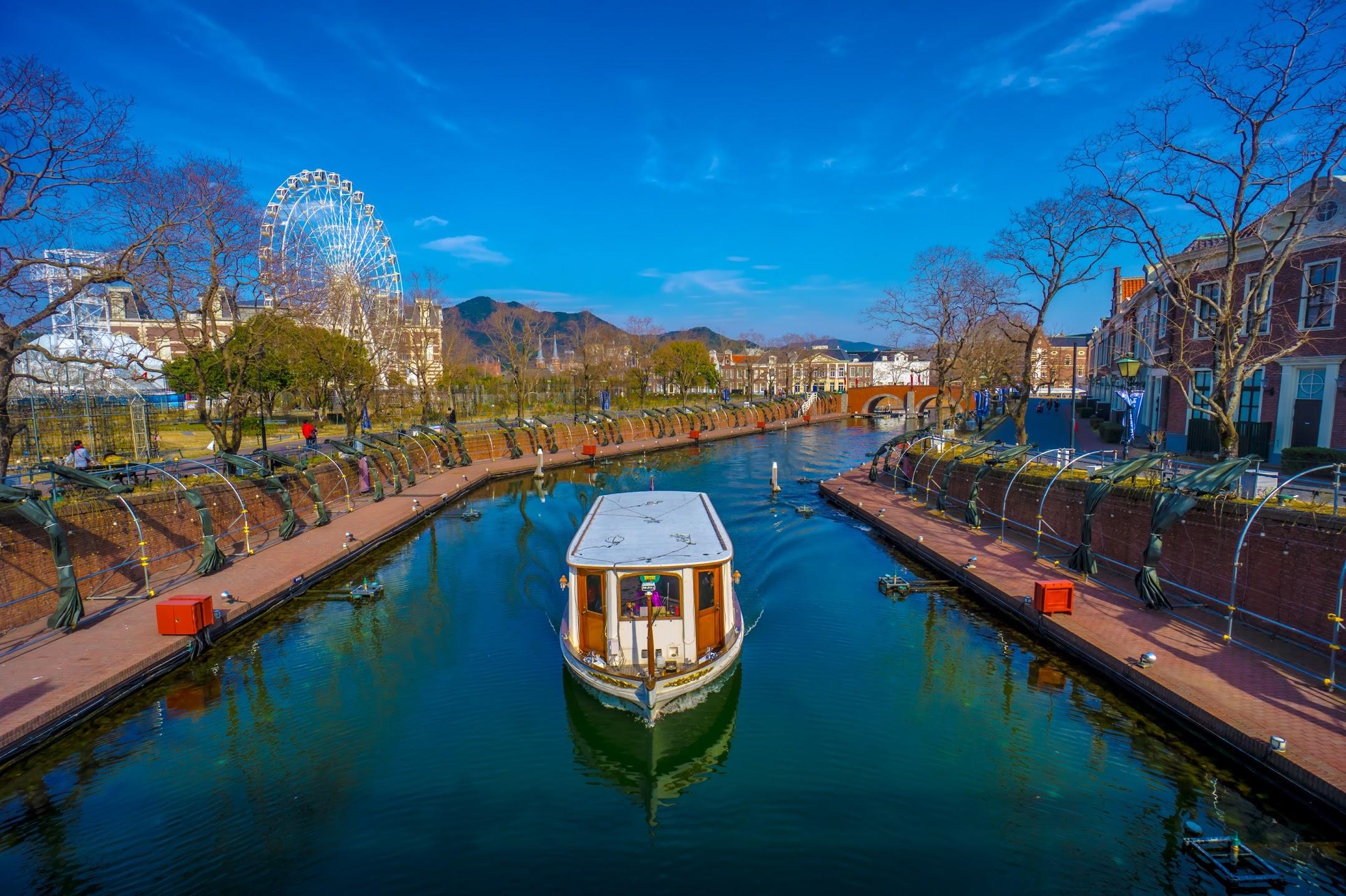 Huis Ten Bosch Canal Cruiser1