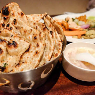Whole Wheat Naan.