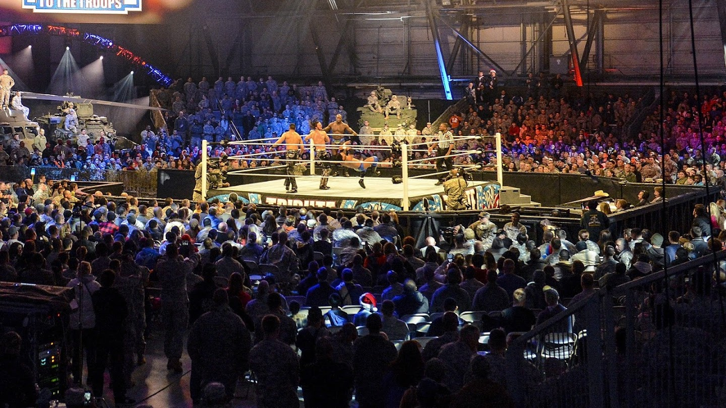 Watch WWE Tribute to the Troops live
