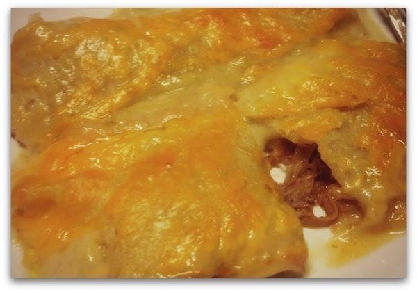 Bbq Shredded Pork Enchiladas Recipe