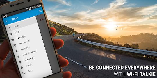 Wi-Fi Talkie FREE Screenshot 1