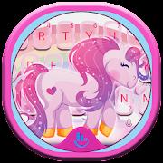 Cute Dream Unicorn Keyboard Theme