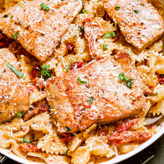 Bowtie Pasta With Salmon Recipes.