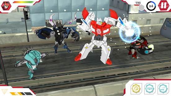 Screenshots of Transformers: RobotsInDisguise for iPhone