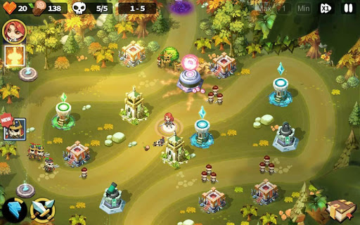 Hero Defense King 1.0.21 screenshots 2