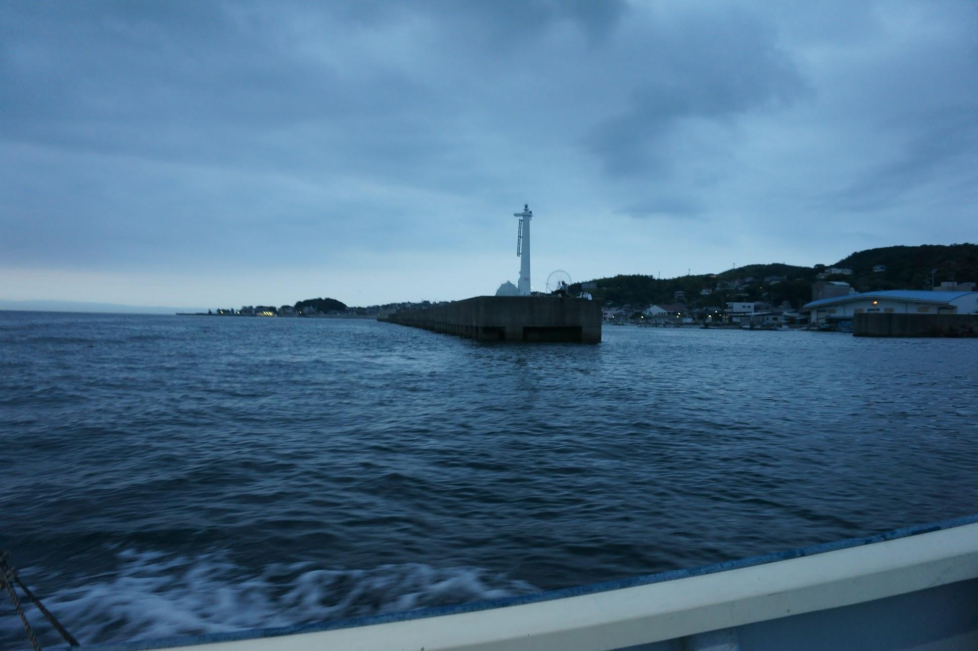 淡路島岩屋港ケーソン