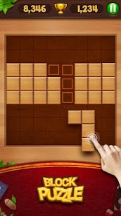 Wood Block Puzzle 35.0 Mod + Data for Android 3