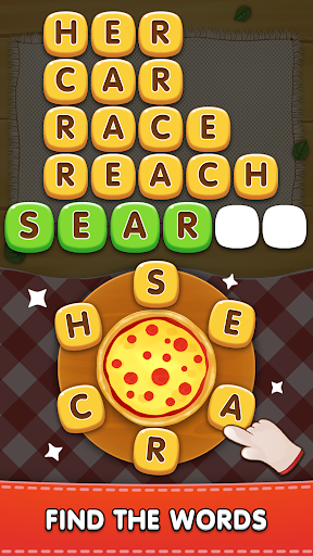 Word Pizza - Word Games Puzzles screenshots 1
