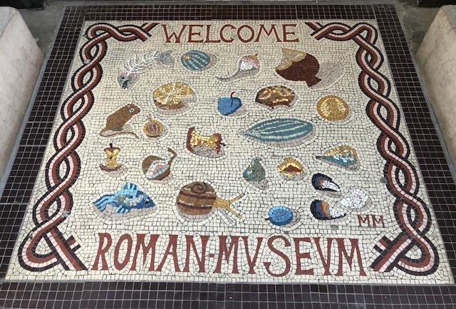My Photos: England -- Mosaics -- Canterbury Roman Museum