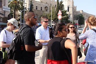 Photo: Arrivée à Jérusalem, Porte de Damas