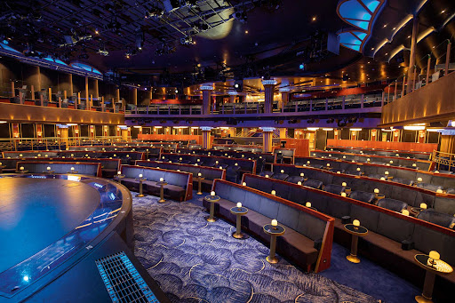 Enjoy lavishly staged musical productions in the Constellation Theater on Seven Seas Splendor.