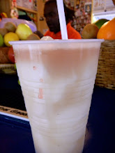 Photo: The banana daiquiri is the best ever! So fresh! So yummy! And they don't skimp on the rum. The place was very lively, I might add!