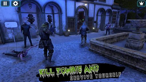 Dead Zombie Hunter Shooting Unknown Battlegrounds 1.0 screenshots 2