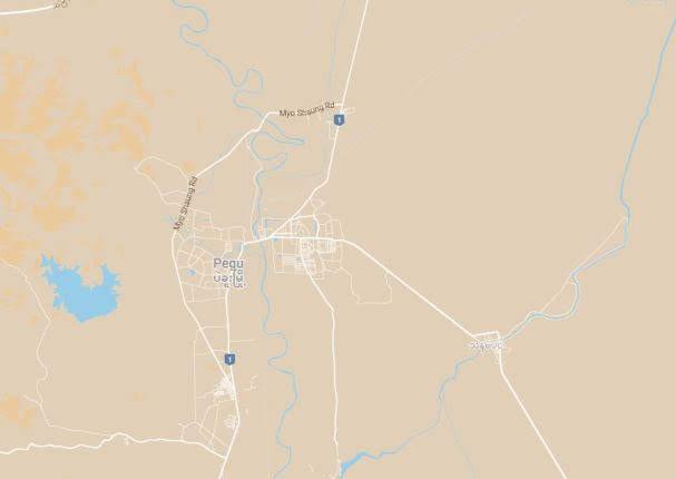 Mapa Bago