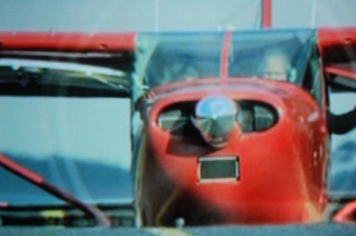 Rosso fotografato alla televisione di bettiblu
