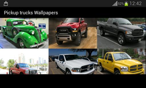 無料个人化Appのピックアップトラックの壁紙 記事Game