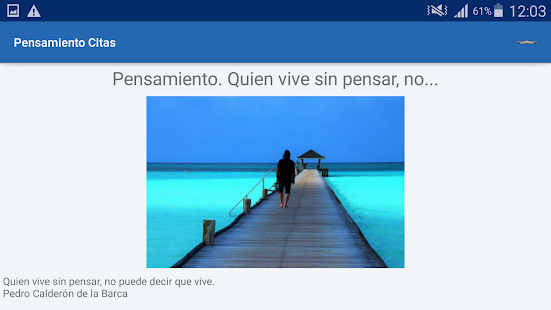 Download Pensamiento Citas y frases famosas For PC Windows and Mac apk screenshot 11