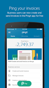 Pingit- screenshot thumbnail